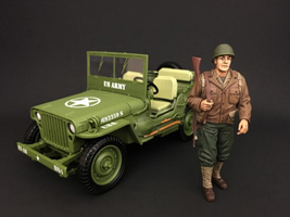 US Army WWII Figure I For 1:18 Scale Models American Diorama 77410