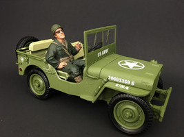 US Army WWII Figure III For 1:18 Scale Models American Diorama 77412