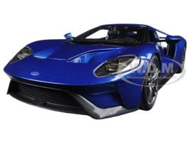 2017 Ford GT Blue 1/18 Diecast Model Car Maisto 31384