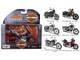 Harley Davidson Motorcycle 6pc Set Series 34 1/18 Diecast Models Maisto 31360-34