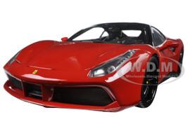 Ferrari 488 GTB Red Signature Series 1/18 Diecast Model Car Bburago 16905