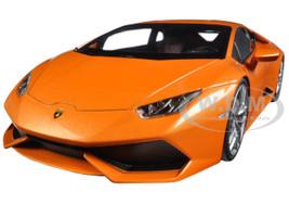 Lamborghini Huracan LP610-4 Orange 1/18 Diecast Model Car Kyosho C09511 P