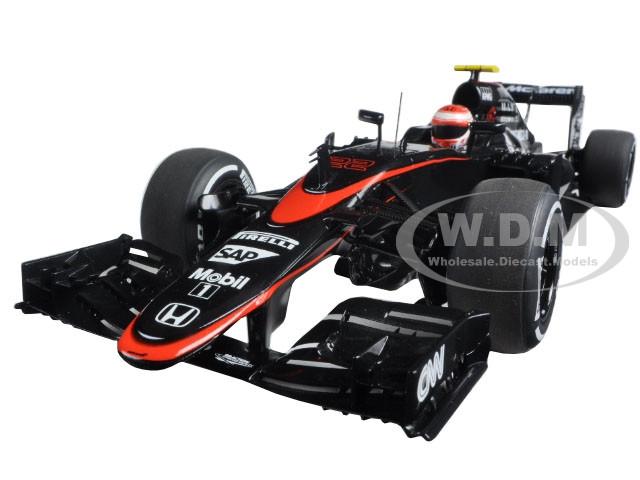 McLaren MP4-30 F1 2015 Barcelona/Spain J. Button #22 1/18 Model Car Autoart 18122
