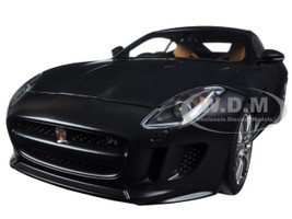 2015 Jaguar F-Type R Coupe Matt Black 1/18 Model Car Autoart 73652