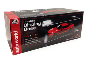 Prestige Collectible Display Show Case for 1/18 Diecast Models Autoworld AWDC001