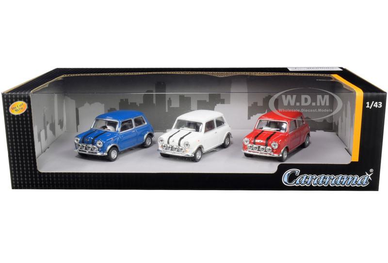 Mini Cooper 3 piece Gift Set 1/43 Diecast Model Cars Cararama 35310