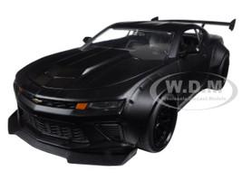 2016 Chevrolet Camaro SS Wide Body Primer Black 1/24 Diecast Model Car Jada 98139