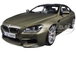 BMW M6 F13M Coupe Frozen Bronze 1/18 Diecast Model Car Paragon 97053