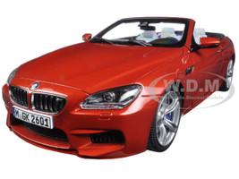 BMW M6 F12M Convertible Sakhir Orange 1/18 Diecast Model Car Paragon 97063
