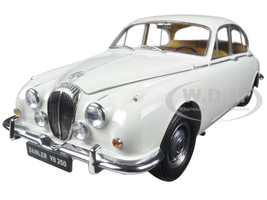 1967 Daimler V8-250 English White Left Hand Drive 1/18 Diecast Model Car Paragon 98313