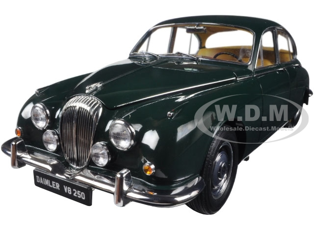 1967 Daimler V8-250 British Racing Green 1/18 Diecast Model Car Paragon 98314