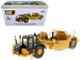 CAT Caterpillar 621K Wheel Tractor Scraper with Operator High Line Series 1/50 Diecast Model Diecast Masters 85920