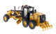 CAT Caterpillar 12M3 Motor Grader with Operator High Line Series 1/50 Diecast Model Diecast Masters 85519