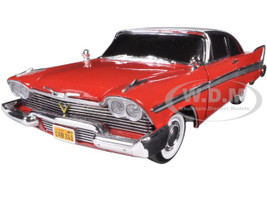 "1958 Plymouth Fury ""Christine"" 1/18 Diecast Model Car Autoworld AWSS102"