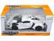 Lykan Hypersport White 1/24 Diecast Model Car Jada 98028