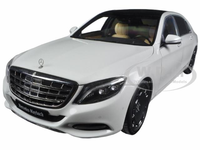 Mercedes Maybach S Class S600 White 1/18 Model Car Autoart 76291