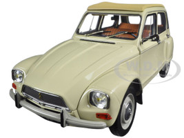 1970 Citroen Dyane 6 Erable Beige 1/18 Diecast Model Car Norev 181620