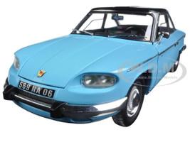 1964 Panhard 24 CT Tolede Blue and Black 1/18 Diecast Model Car Norev 184501