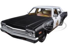 "1974 Dodge Monaco Bluesmobile ""The Blues Brothers"" Movie 1/24 Diecast Model Car Greenlight 84011"
