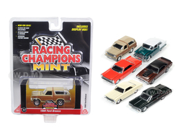 Mint Release 2 Set A Set of 6 cars 1/64 Diecast Model Cars Racing Champions RC002A