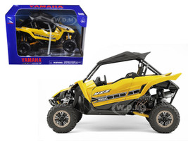 Yamaha YXZ 1000R Triple Cylinder Yellow 1/18 Diecast Model New Ray 57813 B