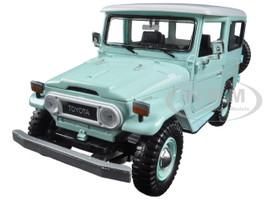 Toyota FJ40 Light Green 1/24 Diecast Model Car Motormax 79323