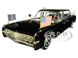 1961 Lincoln X-100 Limousine Quick Fix 1/24 Diecast Model Car Road Signature 24078