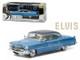 "Elvis Presley 1955 Cadillac Fleetwood Series 60 ""Blue Cadillac"" (1935-1977) 1/43 Diecast Model Car Greenlight 86493"