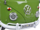 """Volkswagen Type 2 (T1) """"Kundendienst"""" Delivery Pickup Truck Green 1/24 Diecast Model Car Motormax 79554"""