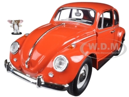 1967 Volkswagen Beetle Gremlins Movie (1984) with Gizmo Figure 1/24 Diecast Model Car Greenlight 18231