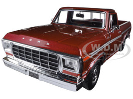 1979 Ford F-150 Pickup Truck Brown 1/24 Diecast Model Car Motormax 79346