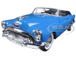 1953 Buick Skylark Convertible Blue 1/24 Diecast Model Car Welly 24027