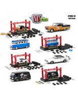 Model Kit 4 Pieces Set Release 10 1/64 Diecast Model Cars M2 Machines 37000-10