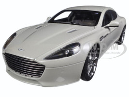 2015 Aston Martin Rapide S Silver Fox 1/18 Diecast Model Car Autoart 70258