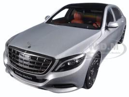 Mercedes Maybach S Class S600 Silver 1/18 Model Car Autoart 76292