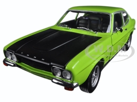 1970 Ford Capri RS 2600 Green Left Hand Drive (LHD) 1/18 Diecast Model Car Minichamps 150089075