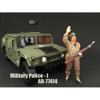 WWII Military Police Figure I For 1:18 Scale Models American Diorama 77414