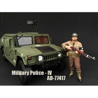 WWII Military Police Figure IV For 1:18 Scale Models American Diorama 77417