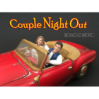 Seated Couple Release II 2 Piece Figure Set for 1:18 Models American Diorama 23833B