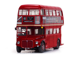 1960 Routemaster Double Decker Bus Red RM324-WLT324 1/24 Diecast Model Sunstar 2919