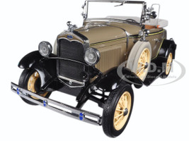 1931 Ford Model A Roadster Stone Brown 1/18 Diecast Model Car Sunstar 6120