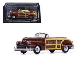 1947 Chrysler Town and Country Costa Rica Brown 1/43 Diecast Model Car Vitesse 36220