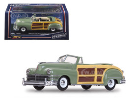 1947 Chrysler Town and Country Heather Green 1/43 Diecast Model Car Vitesse 36221
