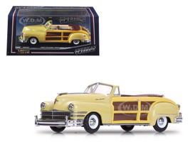 1947 Chrysler Town and Country Yellow Lustre 1/43 Diecast Model Car Vitesse 36222