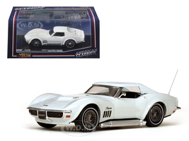 1969 Chevrolet Corvette Coupe Can-Am White 1/43 Diecast Model Car Vitesse 36248
