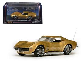 1969 Chevrolet Corvette Coupe Riverside Gold 1/43 Diecast Model Car Vitesse 36249