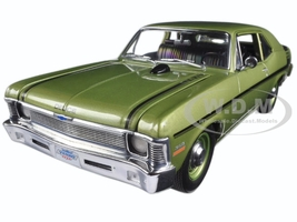 1970 Chevrolet Nova Yenko Deuce Citrus Green Limited Edition to 600pcs 1/18 Diecast Model Car GMP 18831