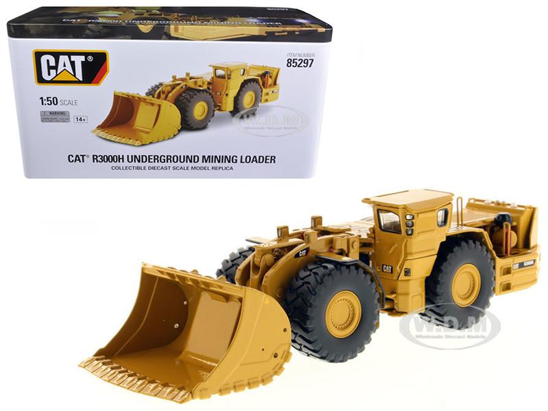 CAT Caterpillar R3000H Underground Wheel Loader with Operator High Line Series 1/50 Diecast Model Diecast Masters 85297