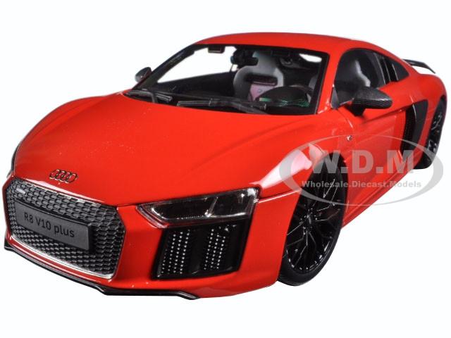 Audi R8 V10 Plus Red Exclusive Edition 1 18 Diecast Model Car Maisto