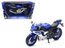 2016 Yamaha YZF-R1 Blue Motorcycle Model 1/12 New Ray 57803 A